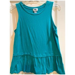 Teal Old Navy tank